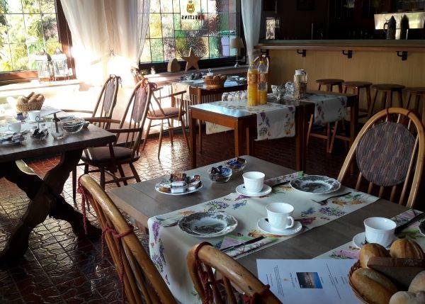 ontbijt in Hotel Haus Erlen