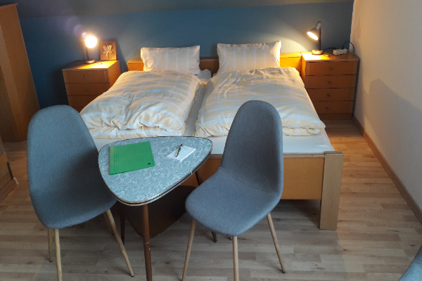 gerenoveerde kamer in Haus Erlen