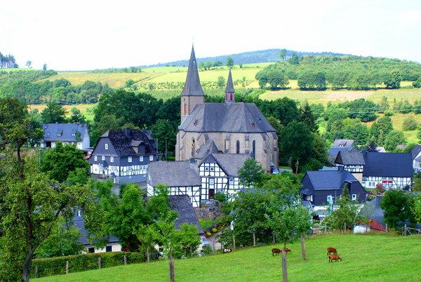 St. Katharina kirche, Assinghausen